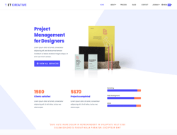 Business WordPress Theme - ET Creative