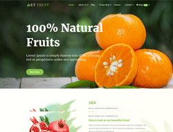 Agriculture WordPress Theme - ET Fruit