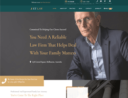 Responsive Law WordPress Theme - ET Law
