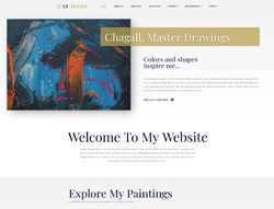 Painter WordPress Theme - LT Artist