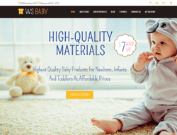 Baby Store WordPress theme - WS Baby
