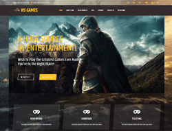 Video Store WordPress Theme - WS Games