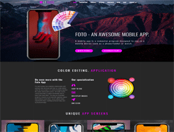 App WordPress Theme - LT Foto
