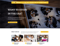 Education WordPress Theme - LT Abroad
