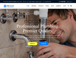 Construction WordPress Theme - FixHouse