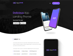 Landing HTML Template - AppLook