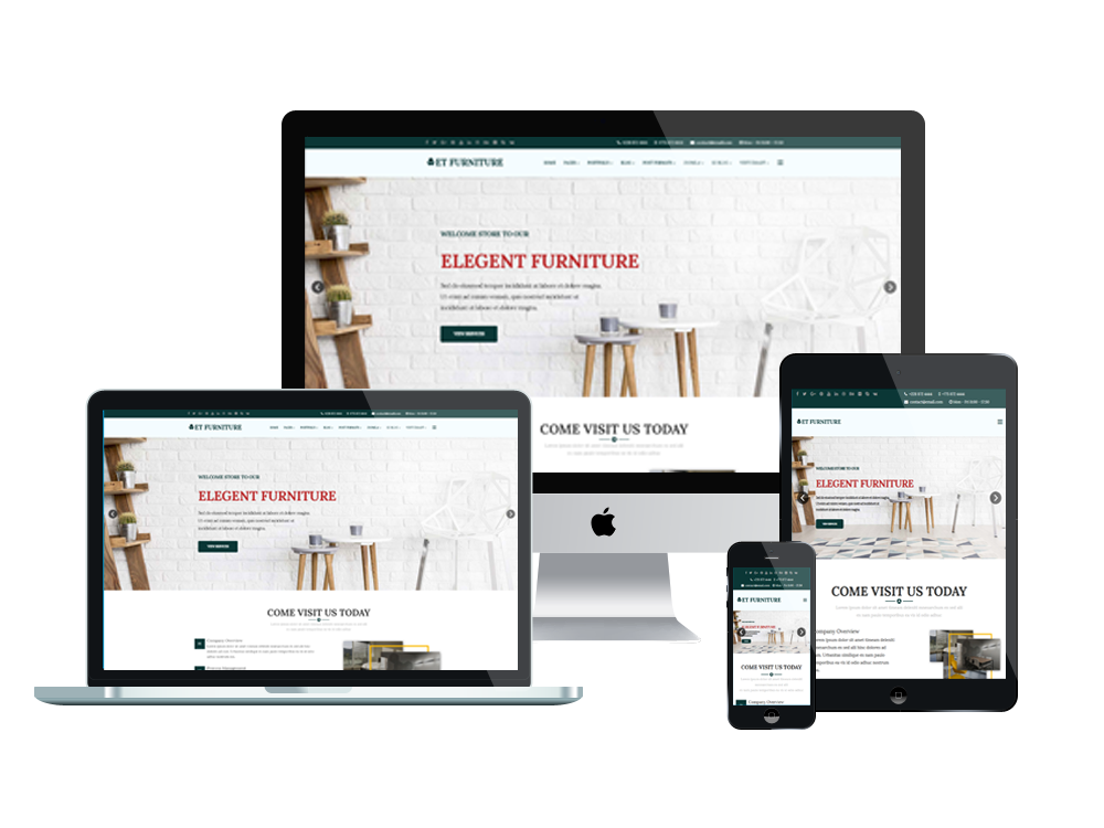 Furniture WooCommerce  Wordpress mobile theme