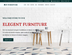 Furniture WordPress Theme - ET Furniture
