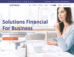 Finance Joomla Template - LT Fiscal