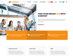 Job Agency Joomla Template - AT Jobbed