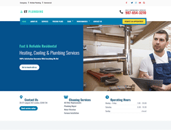 Plumber WordPress Theme - ET Plumbing
