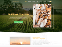 Top WordPress Theme - ET Agriculture