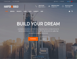 Construction WordPress Theme - Harper