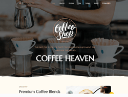 Coffee Shop WordPress Theme - ET Coffee