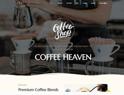 Coffee Shop WordPress Theme - ET Coffee