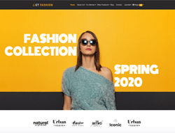 Fashion WordPress Theme - ET Fashion