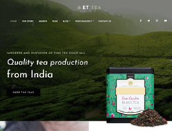 Cafe Shop WordPress Theme - ET Tea