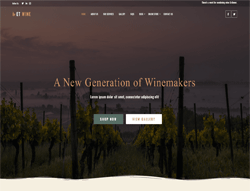 Winery WordPress Theme - ET Wine