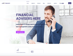 Financial WordPress Theme - ET Finance