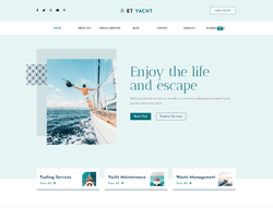 Yachting WordPress Theme - ET Yacht