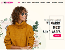Fashion WordPress theme - WS EyeGlax