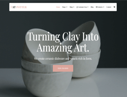 Furniture Joomla Template - AT Pottery
