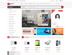 eCommerce Joomla Template - SJ ShoppyStore