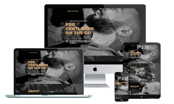 ET Barber - Barber Shop WordPress Theme