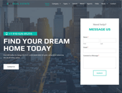 Real Estate WordPress Theme - ET Real Estate