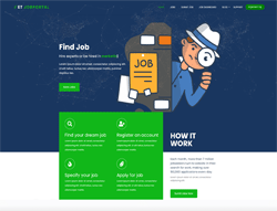 Job Board WordPress Theme - ET Job Portal