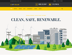 Energy WordPress Theme - ET Solar