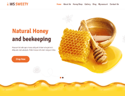 Honey WordPress theme - WS Sweety