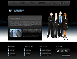 Business Joomla! Template - 002034