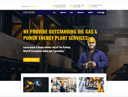 Petroleum WordPress theme - ET Petro