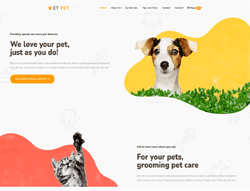 Animal wordpress theme - ET Pet