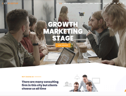 Business wordpress theme - ET Startup