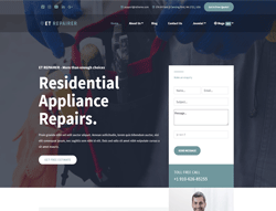 Technician WordPress Theme - ET Repairer