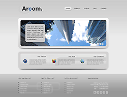Joomla! 3 Bootstrapped Template - 002035