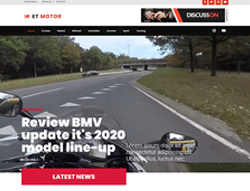 Magazine WordPress Theme - ET Motor