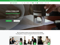 Top Joomla! Template - ET Notarix