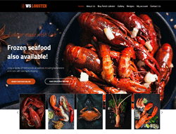 Restaurant WordPress Theme - WS Lobster