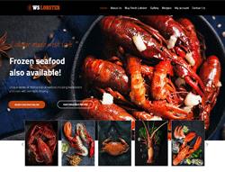 Restaurant WordPress Theme - WS Lobster