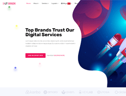 Digital Marketing Joomla Template - LT Digix