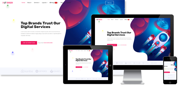LT Digix - Digital Marketing Joomla Template