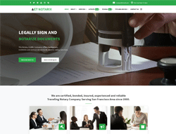 Notary Wordpress Theme - ET Notarix