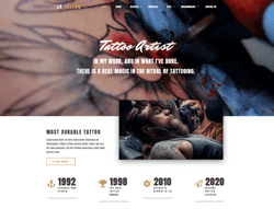 Tattoo WordPress Theme - LT Tattoo