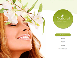 Beauty Joomla! Template - 002036