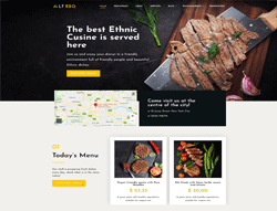 BBQ WordPress Theme - LT BBQ