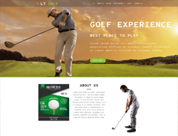Sport WordPress Theme - LT Golf