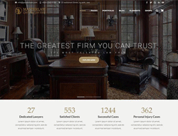 Law Firm WordPress Theme - Masterlaw